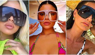 Dalga Geçelim Diye Özellikle Yapıyorlar Sanki: Küçük Gözlük Modasının Ardından Devasa Güneş Gözlükleri Geliyor