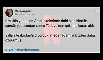 RTÜK'ün Sansür Kararından Ötürü Türkiye'den Çekileceği İddia Edilen Netflix'le İlgili Herkesin Duygularına Tercüman Olan Paylaşımlar