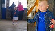 Hayatında İlk Defa Stadyuma Giden 4 Yaşındaki Minik Taraftarın Görülmeye Değer Heyecanı