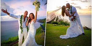 Oyunculuğuna Hayran Olduğumuz Dwayne 'The Rock' Johnson, Lauren Hashian ile Hawaii'de Masalsı Bir Düğünle Evlendi