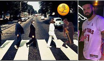 Drake Müzik Tarihindeki Rekorunu Kırdığı Beatles'a Tepeden Baktığı Bir Dövme Yaptırdı, Müzikseverler İkiye Bölündü