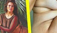 Kimseye Güzellik Borcu Yok! İlk Büyük Beden Model Ashley Graham Hamilelik Çatlaklarını Takipçileriyle Paylaştı