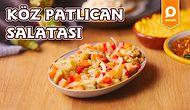 Mangal Sofralarının Vazgeçilmezi! Köz Patlıcan Salatası Nasıl Yapılır?