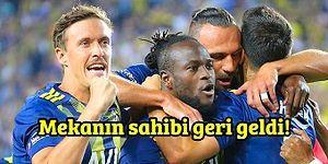 Fenerbahçe 123 Hafta Sonra Süper Lig'de Lider! Fenerbahçe-Gazişehir FK Maçında Yaşananlar ve Tepkiler