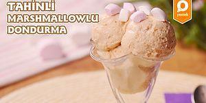 Yaşasın Dondurma Mevsimi Geldi! Tahinli Marshmallowlu Dondurma Nasıl Yapılır?