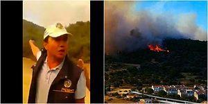 'İzmir'de Pürmüzle Orman Yakıyorlar' Videosuna Bakanlık'tan Açıklama: 'Karşı Ateş Metodunu Kullanıyor'