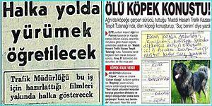 Her Maddesinde Ayrı Bir Gariplik Deryasına Sokacak Birbirinden Absürt 19 Gazete Kupürü