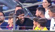 Messi'nin Oğlu Mateo, Barcelona'ın Yediği Gole Sevinince Ortaya Eğlenceli Görüntüler Çıktı!