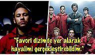 La Casa De Papel'den Neymar Sürprizi! Ünlü Futbolcu Dizinin Üçüncü Sezonunda Yer Alacak