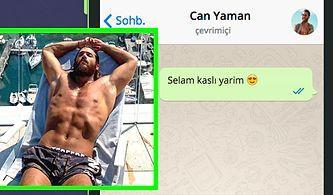 WhatsApp'ta Can Yaman'ı Tavlayabilecek misin?