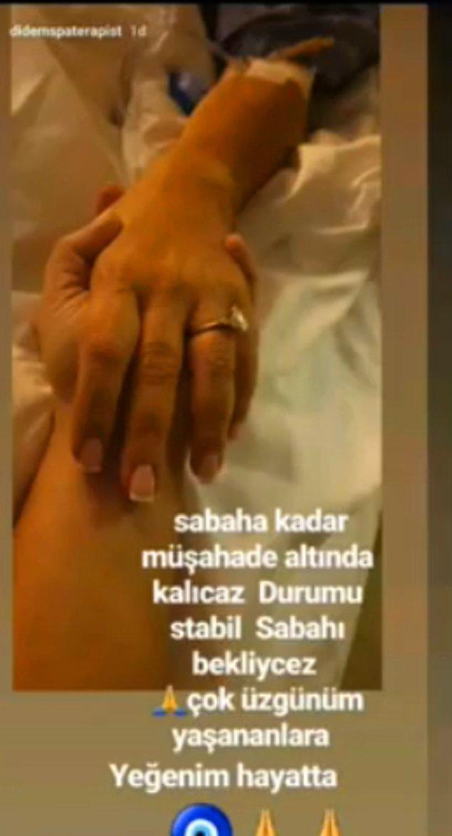 Yaşar İpek'in bu açıklamalarından sonra Seren Serengil yüksek tansiyon ve kanama şikayetiyle hastaneye kaldırılmıştı.