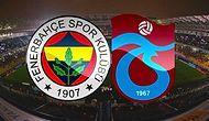 Fenerbahçe - Trabzonspor Maçının Golleri
