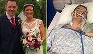 Düğün Gecesi Merdivenden Düşünce Girdiği Komada Evlendiğini Unutan Damadın Umut Veren İyileşme Hikayesi