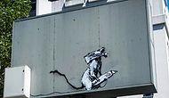 Eserleri Tek Tek Ortadan Kayboluyor: Banksy'nin Bir Çalışması Daha Çalındı