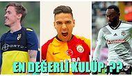 Süper Lig'in Açık Arayla En Değerli Takımı Belli Oldu! İşte Kulüpler ve Kadro Değerleri