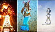 Geçtiğimiz Günlerde Gerçekleşen, Şeyma Subaşı'nın da Müdavimi Olduğu Burning Man'den Nefes Kesen Kareler!