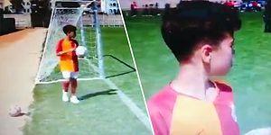 'Fener Gol Gol' Tezahüratı Yapan Galatasaray Formalı Çocuktan Ders Niteliğinde Sözler: 'Futbol Kardeşliktir'