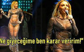 Konserde Giydiği Transparan Kıyafet Yüzünden Eleştirilen Gülşen'den 'Ayar' Niteliğinde Bir Cevap Geldi!