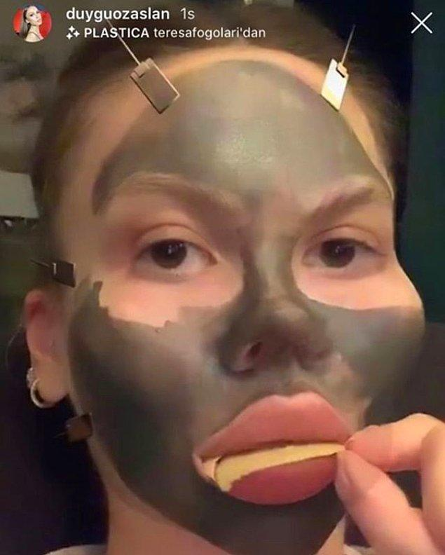 3. Ninja makyajı