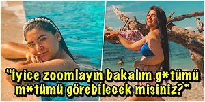 Türbanını Çıkaran Eski Gelin Adayı Hanife Gürdal Bikinili Fotoğrafını Paylaştı, Ortalık Karıştı!