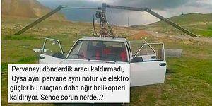 Tofaş Şahin'e Pervane Takınca Helikopter Gibi Uçacağını Zanneden Yurdum İnsanı