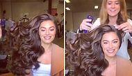 Şampuan Reklamlarındaki Ahenkle Savrulan Saçların Kamera Arkası Görüntüleri!