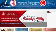 Tekrar Eklendi: Türk Dil Kurumu, Atatürk ile İlgili Bölümleri İnternet Ana Sayfasından Kaldırmıştı