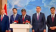 Davutoğlu Partiden İstifa Ettiğini Açıkladı: 'AK Parti'nin Türkiye'ye Çare Olma İmkan ve İhtimali Kalmamıştır'