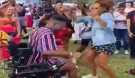 Tekerlekli Sandalyedeki Dansıyla Müzik Festivaline Damga Vuran Genç!