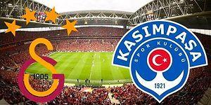 Galatasaray - Kasımpaşa Maçının Golleri