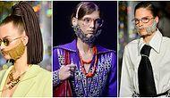 Moda Dünyasının Tuhaflık Sınırlarını Zorlayan Aksesuarlarına Bir Yenisi Eklendi: Kristal Taşlı Takma Sakallar