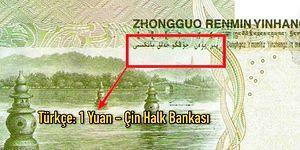 Bunca Mesafe ve Kültür Farkına Rağmen Çin'de Paraların Üzerinde Neden Osmanlı Türkçesi Yazıyor?