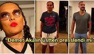 Demet Akalın'ın Ailesiyle Evde Çektiği TikTok Videosundaki Görüntüsü Goygoycuların Eline Düştü