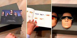 Kim Kardashian'ın Güneş Gözlüğü Hediyesine Hazırlıksız Yakalanan Katy Perry'nin Dehşete Düştüğü Anlar