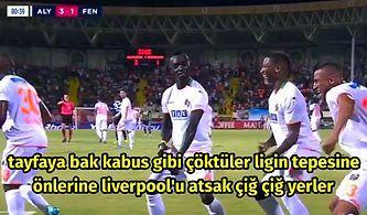 Alanyaspor'u Fenerbahçe de Durduramadı! Aytemiz Alanyaspor-Fenerbahçe Maçında Yaşananlar ve Tepkiler