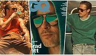Hâlâ Taş Gibi! 55'lik Brad Pitt GQ Dergisine Verdiği Pozlarla Yine Gönülleri Titretti