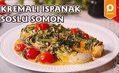Besin Değeri Yüksek Bir Yemek Arıyorsanız Tam Size Göre Tarifimiz Var: Ispanak Soslu Somon Nasıl Yapılır?