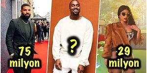 Kanye Yine Paraya Para Dememiş! İşte 2019'un En Çok Kazanan 20 Hip-Hop Sanatçısı