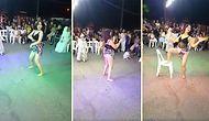 Mahalle Arasında Yapılan Sünnet Düğününe Twerk Dansıyla Damga Vuran Kadın!