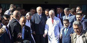 MHP Lideri Bahçeli Taburcu Oldu: 'Tedavisi Evde Devam Edecek'