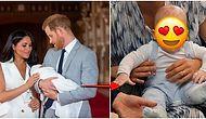 Minnoş Alarmı! Meghan Markle ve Prens Harry'nin Gülücükler Saçan Oğlu Archie İlk Kez Yakından Görüntülendi
