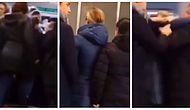 Göz Göre Göre Cinayet Girişimi: Tartıştığı Kadını Metronun Altına İtmeye Çalışan Psikopat!