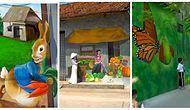 Sanat Her Yerde: Bir Vietnam Köyündeki Rengarenk Duvar Resimleri Sizi Büyüleyecek!