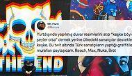 Ülkemizdeki Türk Sanatçıların Graffiti Çalışmalarını Twitter'da Paylaşarak Hepimizi Gururlandıran Sanatçı Mr. Hure