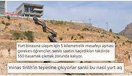 Gümüşhane Üniversitesi Yurduna Çıkan Merdivenler Sosyal Medyanın Diline Düştü