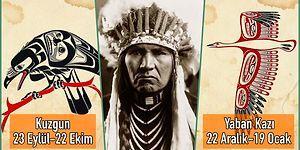 Bu Öyle Sizin Bildiğiniz Burçlardan Değil, İçinde Bizzat Totemin Kendisi Var! Kızılderililere Göre Burçlar ve Özellikleri
