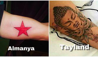 Dövme Tutkunları Buraya! Farklı Ülkelerden Dövmelerle İlgili Birbirinden İlginç Kurallar ve Yasaklar