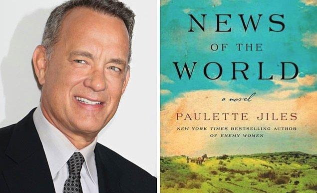 """13. Tom Hanks'in bir kez daha Paul Greengrass ile işbirliği yapmış olacağı """"News of The World""""ün ne zaman izleyicileriyle buluşacağı belli oldu. Universal bünyesinde geliştirilen ve kitaptan uyarlanacak olan proje, 2020 yılının Noel dönemi için hazırlanıyor."""