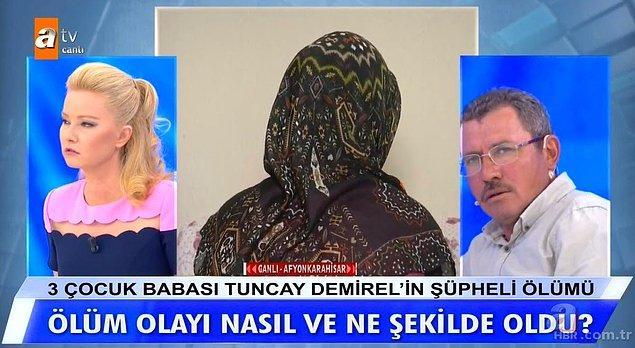 Yayına katılan Nazife Demirel'in sevgilisi olduğu söylenen Yasin de Nazife ile ortaya çıkan cinsel içerikli görüntüleri çeken kişinin Tuncay Demirel olduğunu, kendisini buna zorladığını iddia etti.