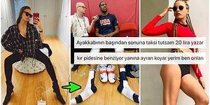Tarzıyla Gündemden Düşmeyen Serenay Sarıkaya'nın Uzun Burunlu Botları Sosyal Medyada Goygoycuların Diline Fena Düştü!